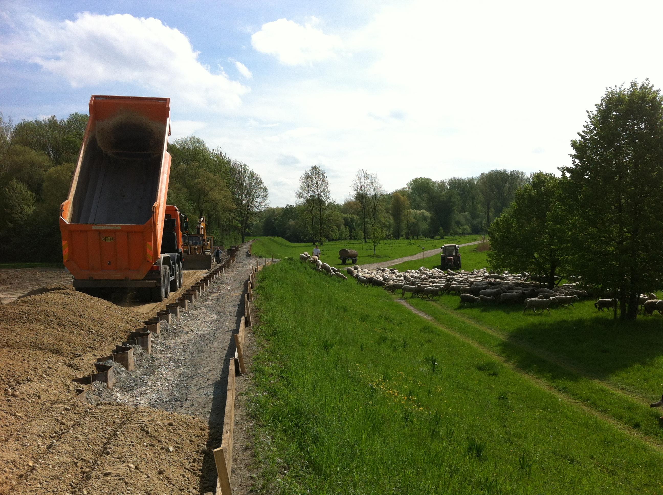 Ref Bild 3 Hochwasserschutz Isardamm Sanierung 2013